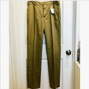 L.L. Bean Standard Fit Chinos Wrinkle Resistant